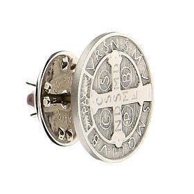 Spilla San Benedetto argento 925 s2