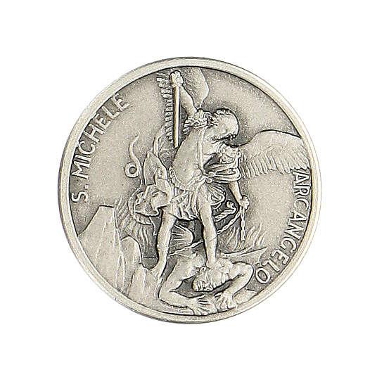 Broche Saint Michel argent 925 4
