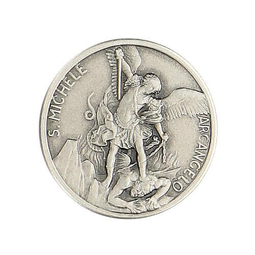 Broche Saint Michel argent 925 1