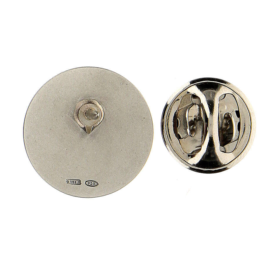 Spilla San Michele argento 925 4