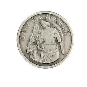Spilla San Raffaele argento 925 s1