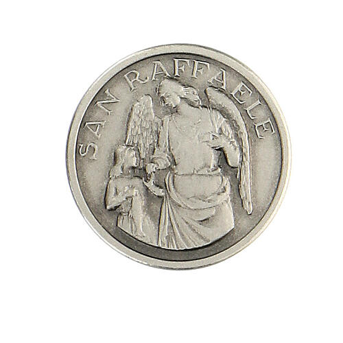 Spilla San Raffaele argento 925 1