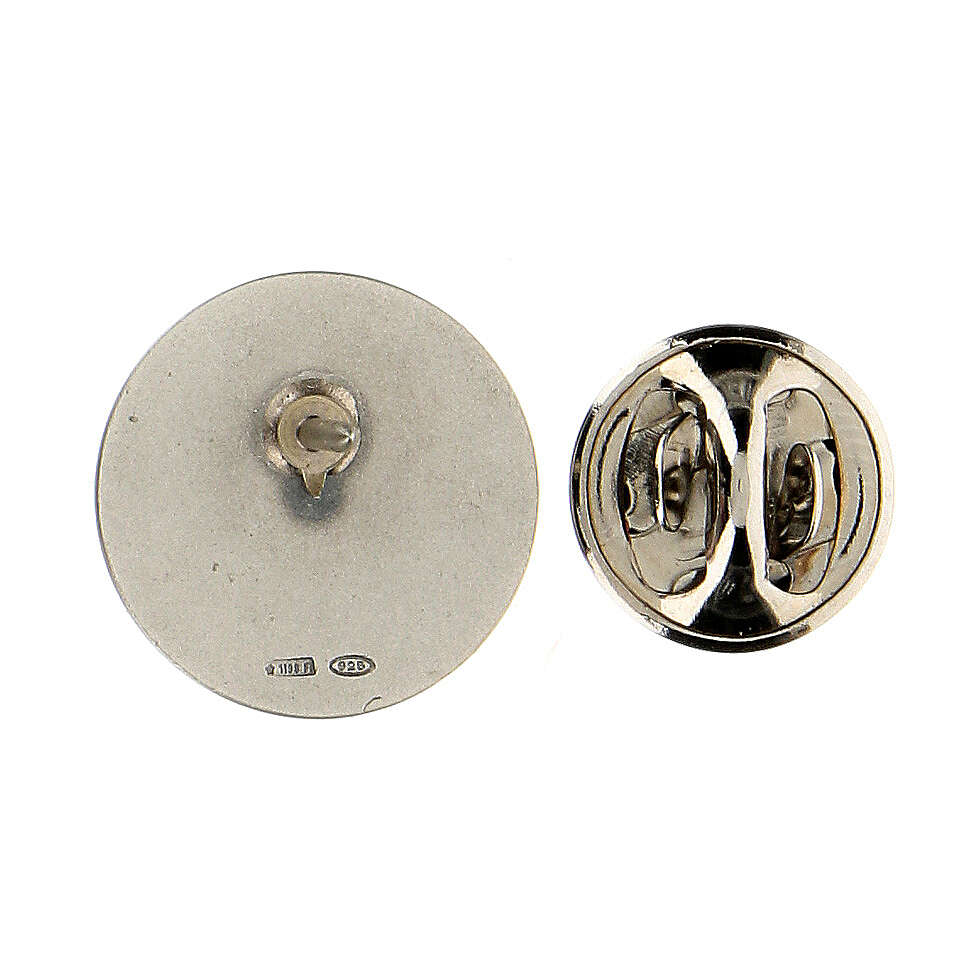 Spilla San Francesco argento 925 4