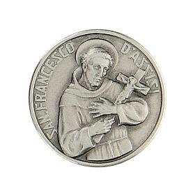 Spilla San Francesco argento 925 s1