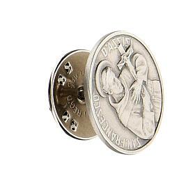 Spilla San Francesco argento 925 s2