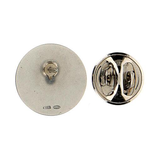 Spilla San Francesco argento 925 3