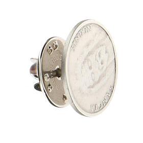 Broche Sainte Face argent 925 s3