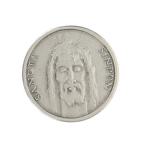 Broche Sainte Face argent 925 1