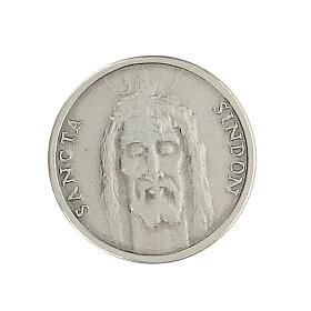 Spilla Sacra Sindone argento 925 s1