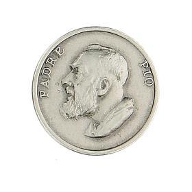 Spilla Padre Pio argento 925 s1