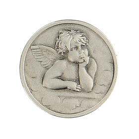 Broche Ángel Rafael plata 925 s1