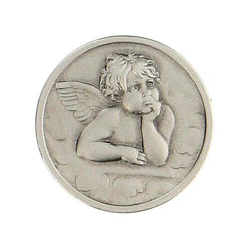 Broche Ángel Rafael plata 925 1