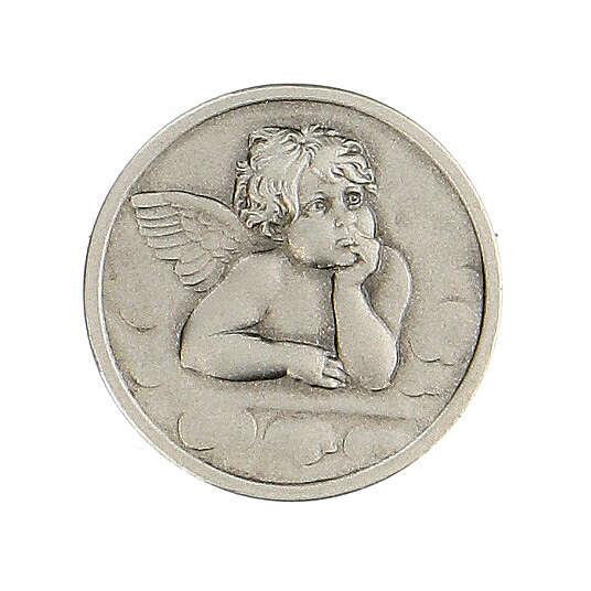 Broche Ange Raphaël argent 925 4