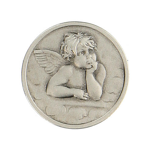 Broche Ange Raphaël argent 925 1
