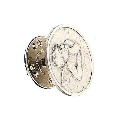 Spilla Angelo Raffaello argento 925 4