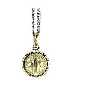 San Benito colgante oro 18 k 3,4 gr 4 cm