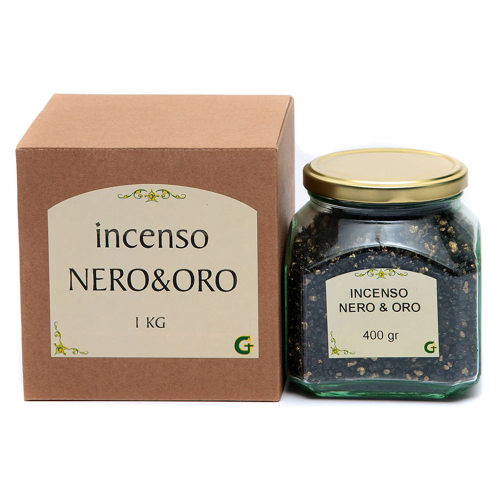 Black & Gold incense 3