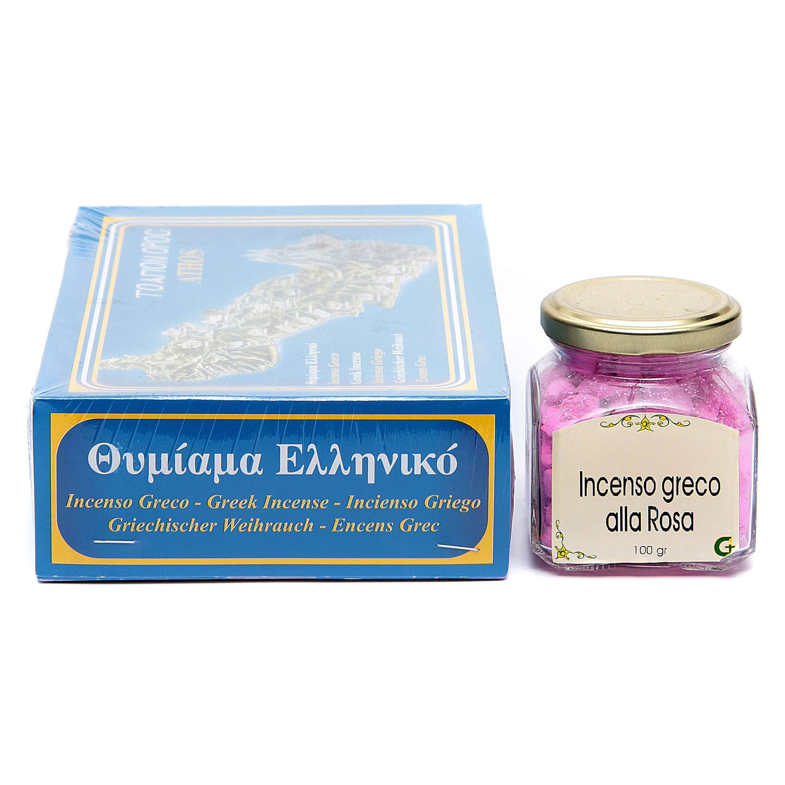 Rose scented Greek incense 3