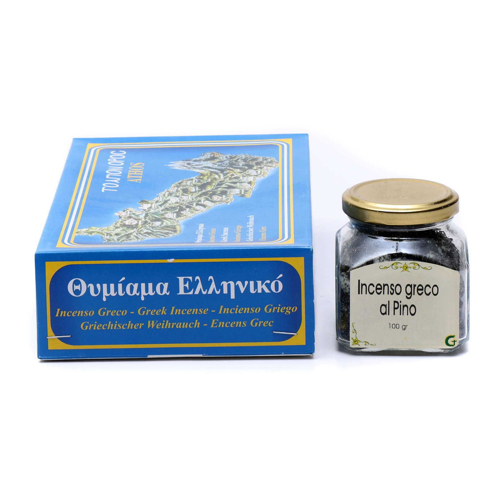 Pine scented Greek incense 3