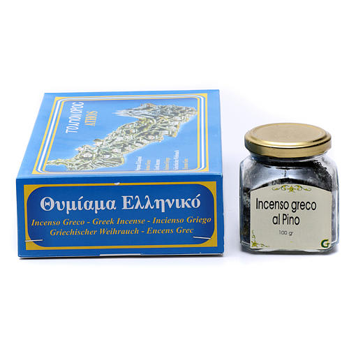 Pine scented Greek incense 2