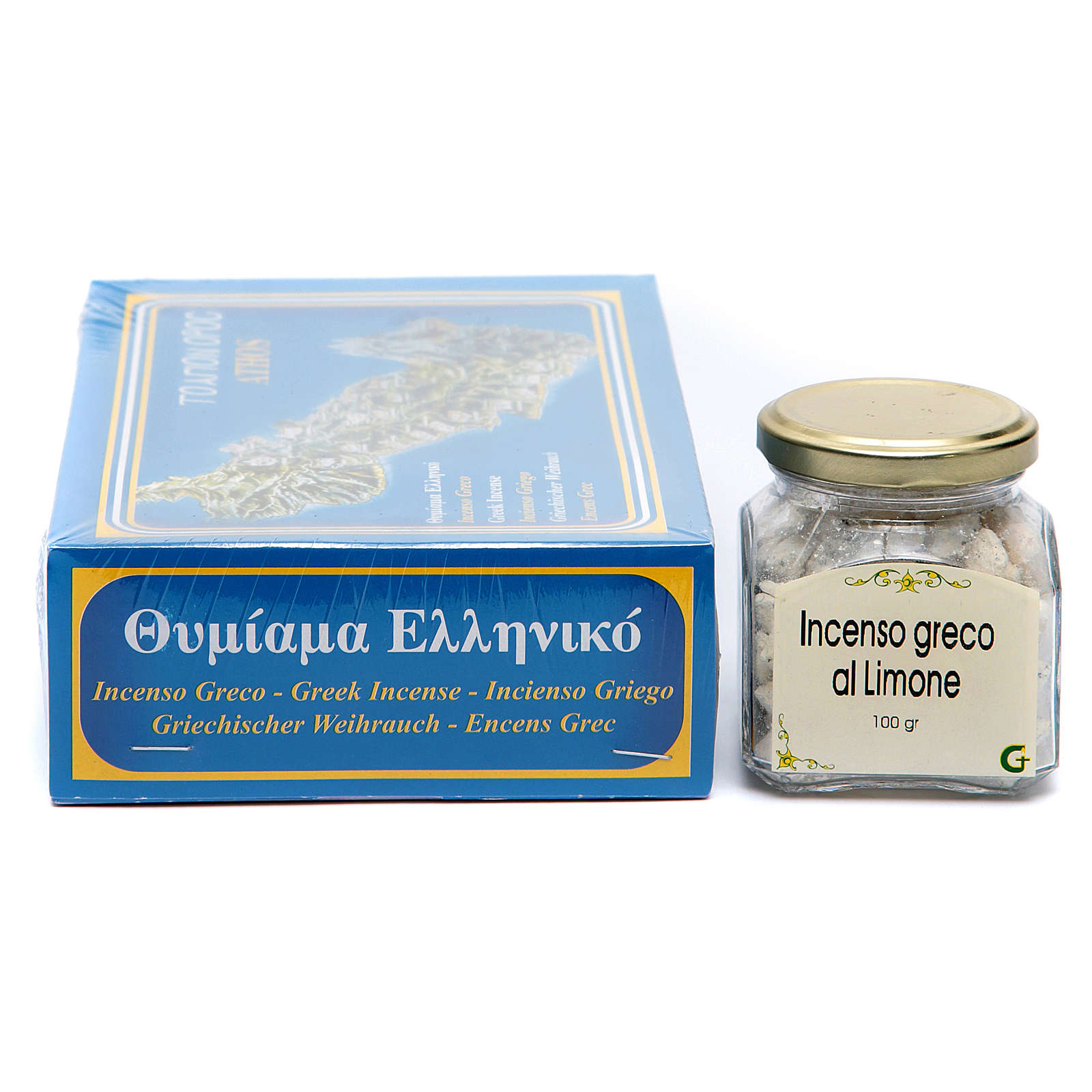 Lemon scented Greek incense 3