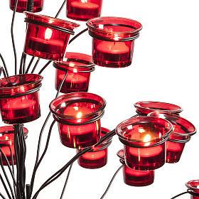 Candélabre porte-lampe en arbre s4