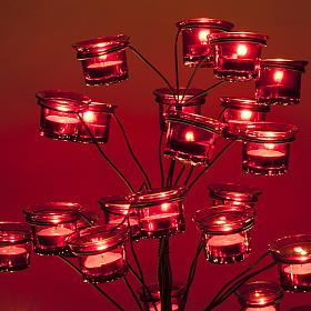Candélabre porte-lampe en arbre s5