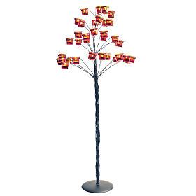 Candelabro portalumini albero s1