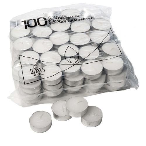 Vela 2,30 horas - Tealight 10 g - Paquete de 100 velas 1