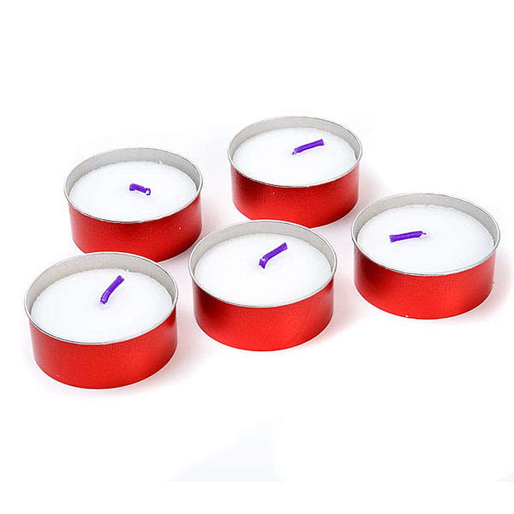 Świeczka, czas palenia 6 godzin- Anthares (opakowanie) 3