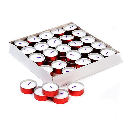Tealights duração 6 horas Anthares (embalagem) 1