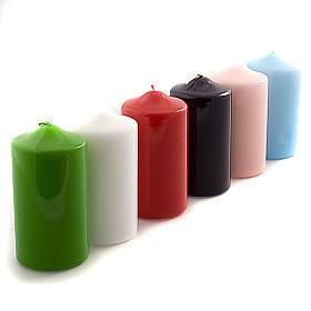 Bougies, cierges, chandelles: Cierge pour autel,lucide 80x150 mm
