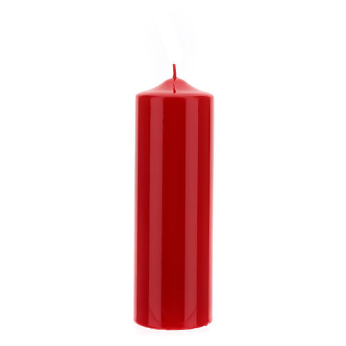 Altarkerze glänzend 80x240 mm 3