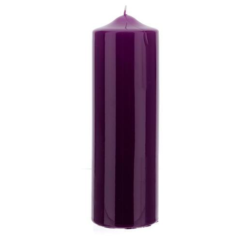 Altarkerze glänzend 80x240 mm 5