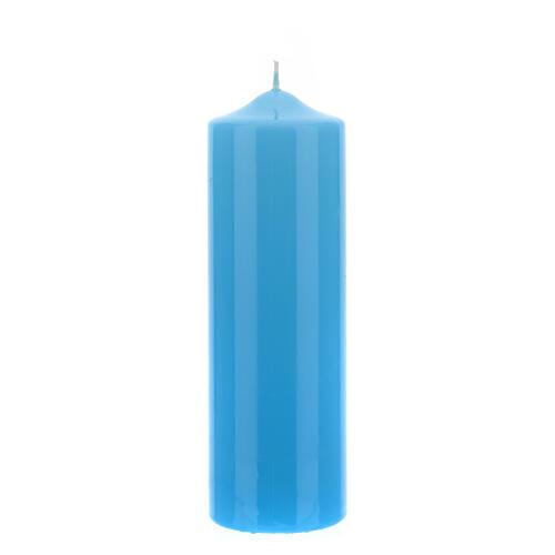 Altarkerze glänzend 80x240 mm 7