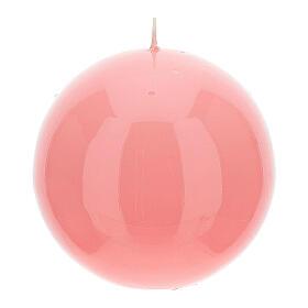 Świeczka kula błyszcząca wielkość 10cm s6