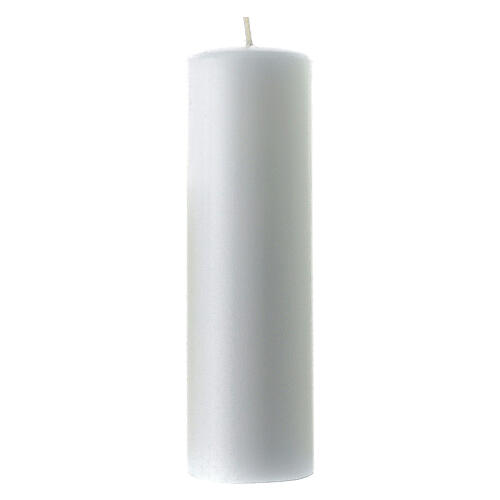 Altar large candle diameter 6 cm 3