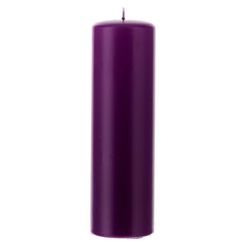 Altar large candle diameter 6 cm 5