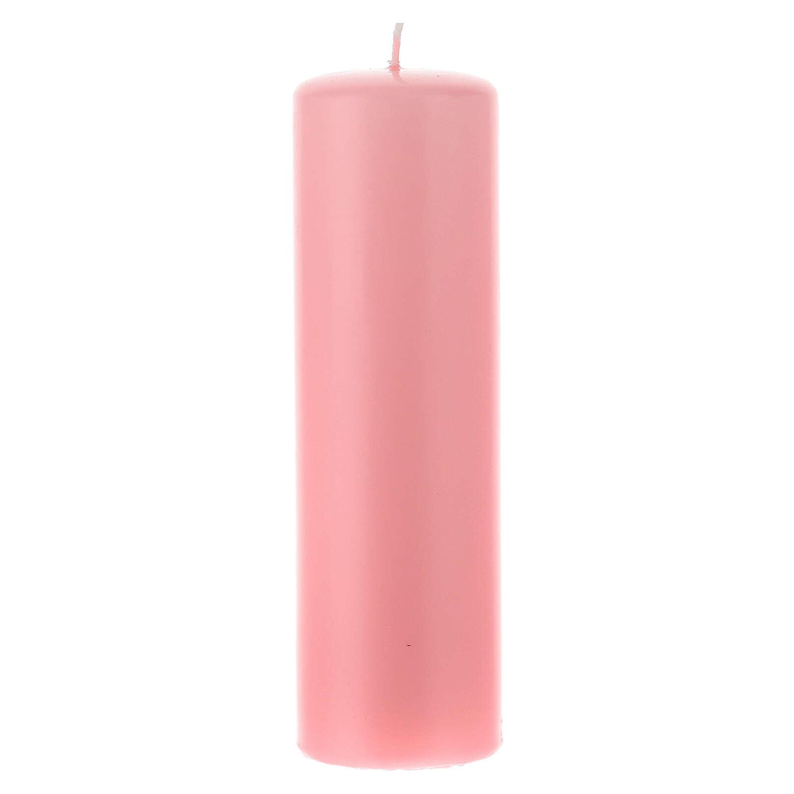 Świeczka na ołtarz matowa wielkość 6cm. 3