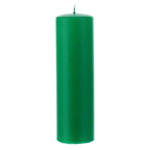 Świeczka na ołtarz matowa wielkość 6cm. 2