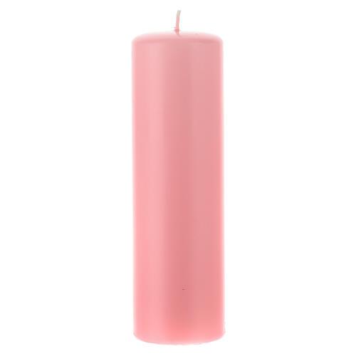 Świeczka na ołtarz matowa wielkość 6cm. 6