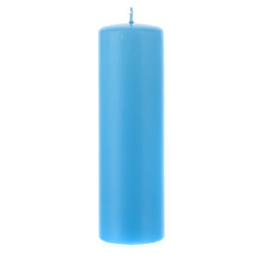 Świeczka na ołtarz matowa wielkość 6cm. 7