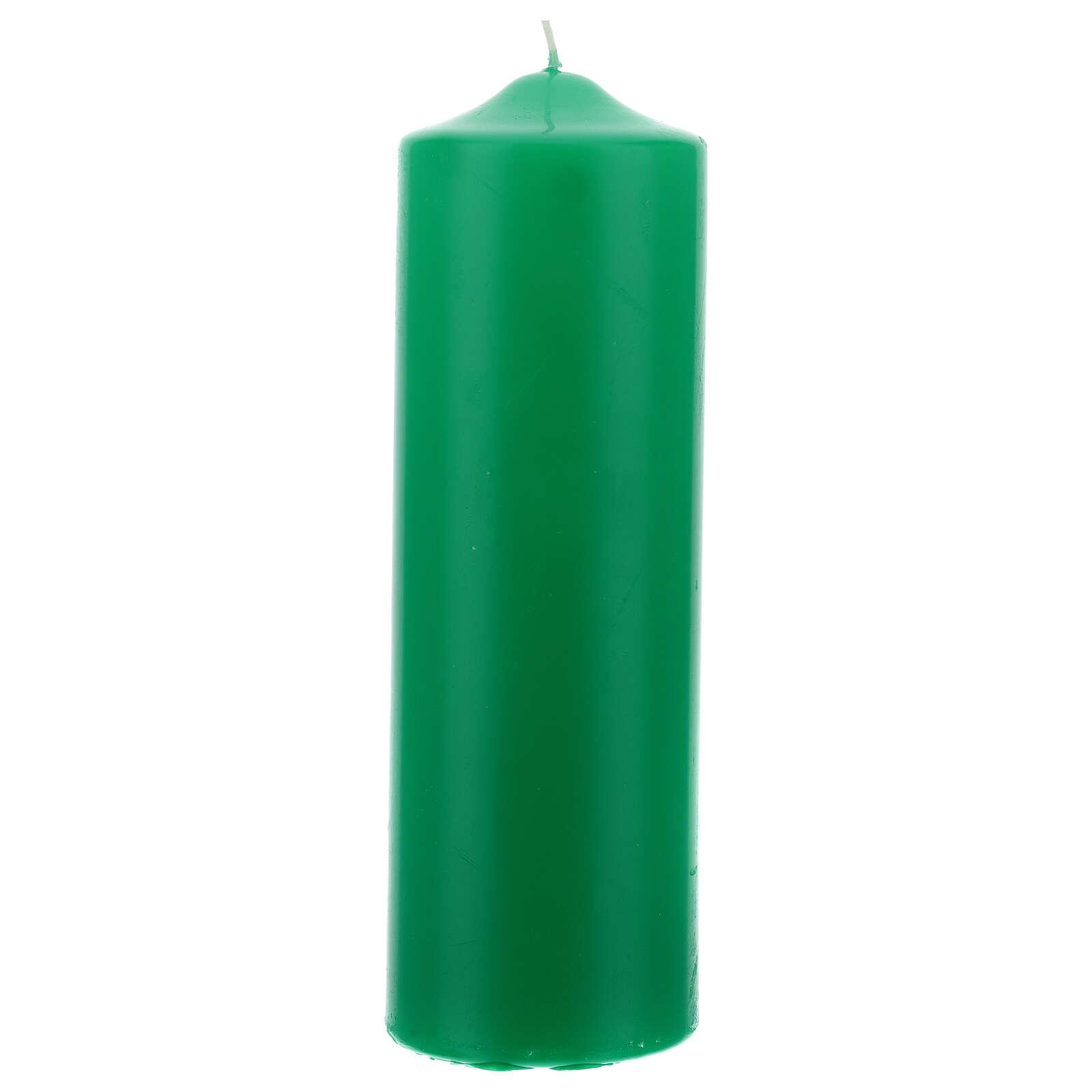 Świeczka na ołtarz matowa wymiary 80 X 240 mm 3