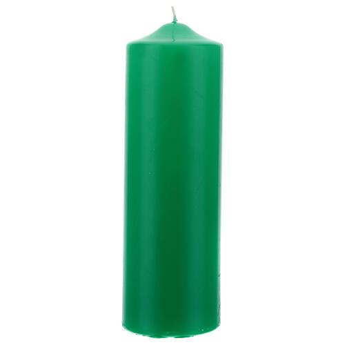 Świeczka na ołtarz matowa wymiary 80 X 240 mm 2