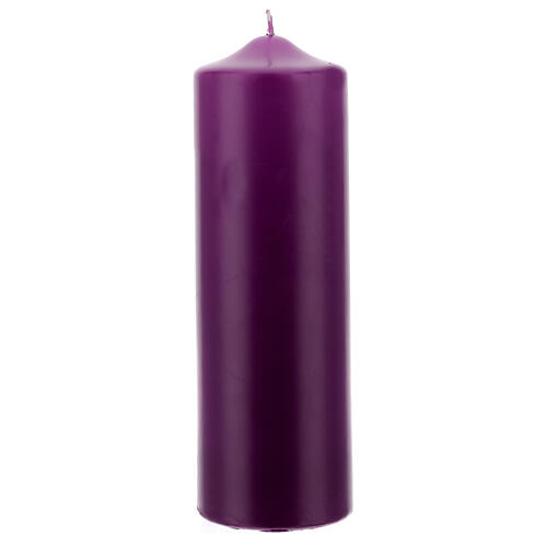 Świeczka na ołtarz matowa wymiary 80 X 240 mm 5