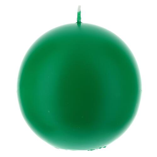 Kugelförmige Kerze, opak durchmesser 10 cm 2
