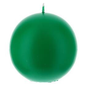 Świeczka kula matowa wielkość 10cm. s2