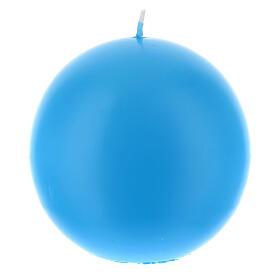 Świeczka kula matowa wielkość 10cm. s7