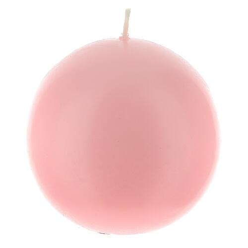 Świeczka kula matowa wielkość 10cm. 6