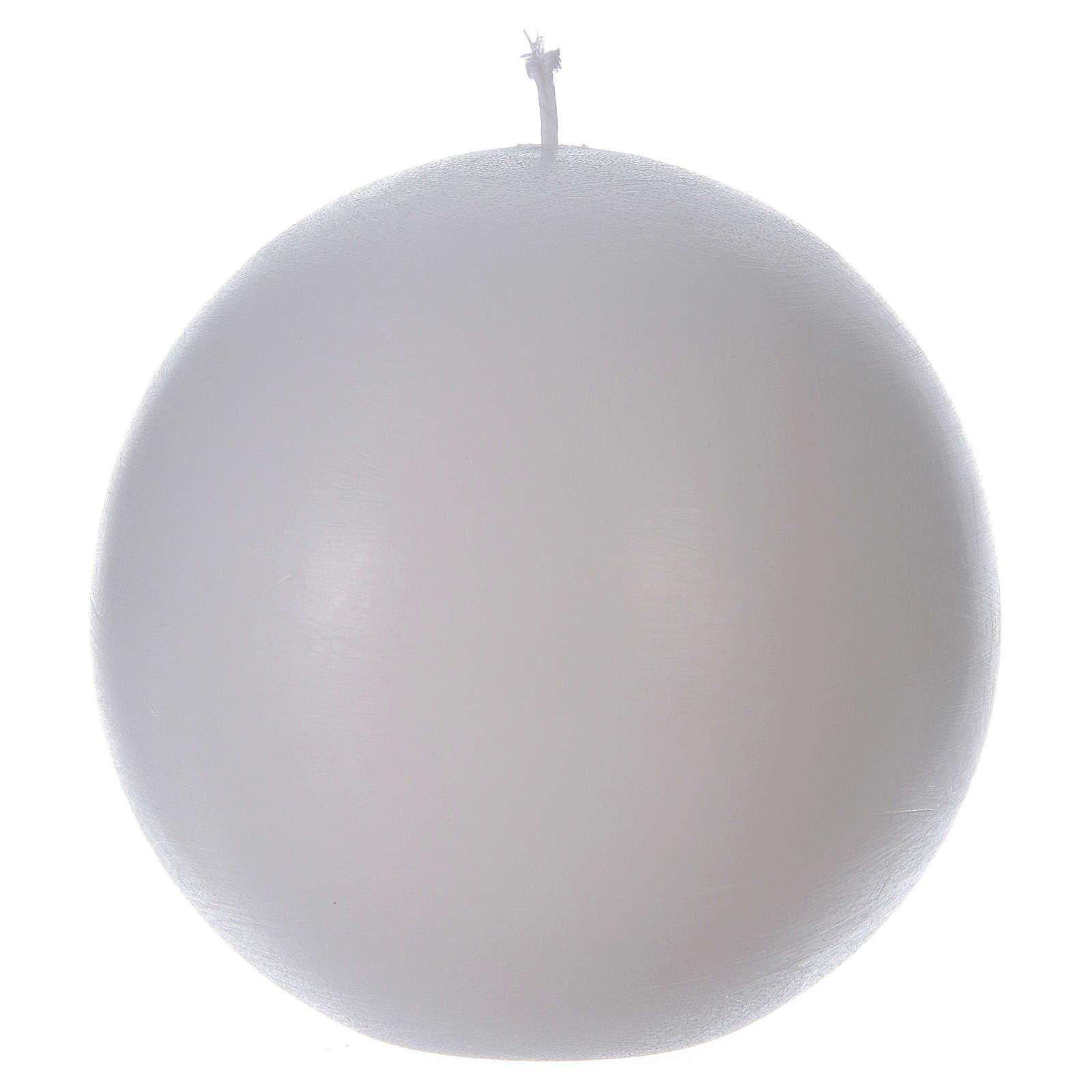Bougie d'autel sphère 3